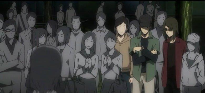 spot the main characters. Source - Durarara.. Did i find them all? spot the main characters Source - Durarara Did i find them all?