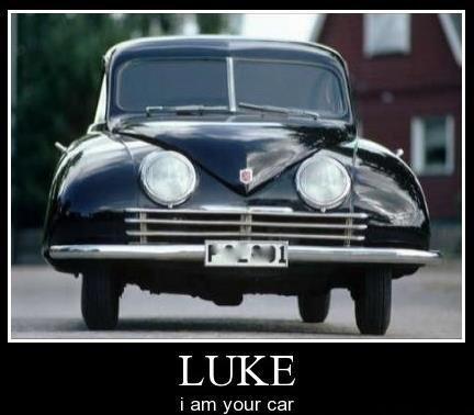 Star cars the clone cars. Luke....warm milk... Wait my name is Luke sup niggha
