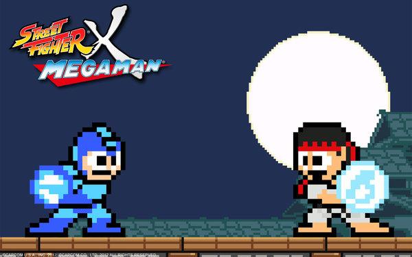 Street Fighter X Megaman. www.capcom-unity.com/mega_man currently my background. i Love You