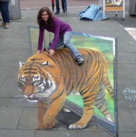 street image. . street image tiger woman