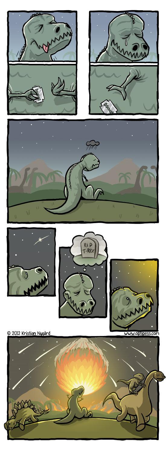 Suicidal rex. . Suicidal rex