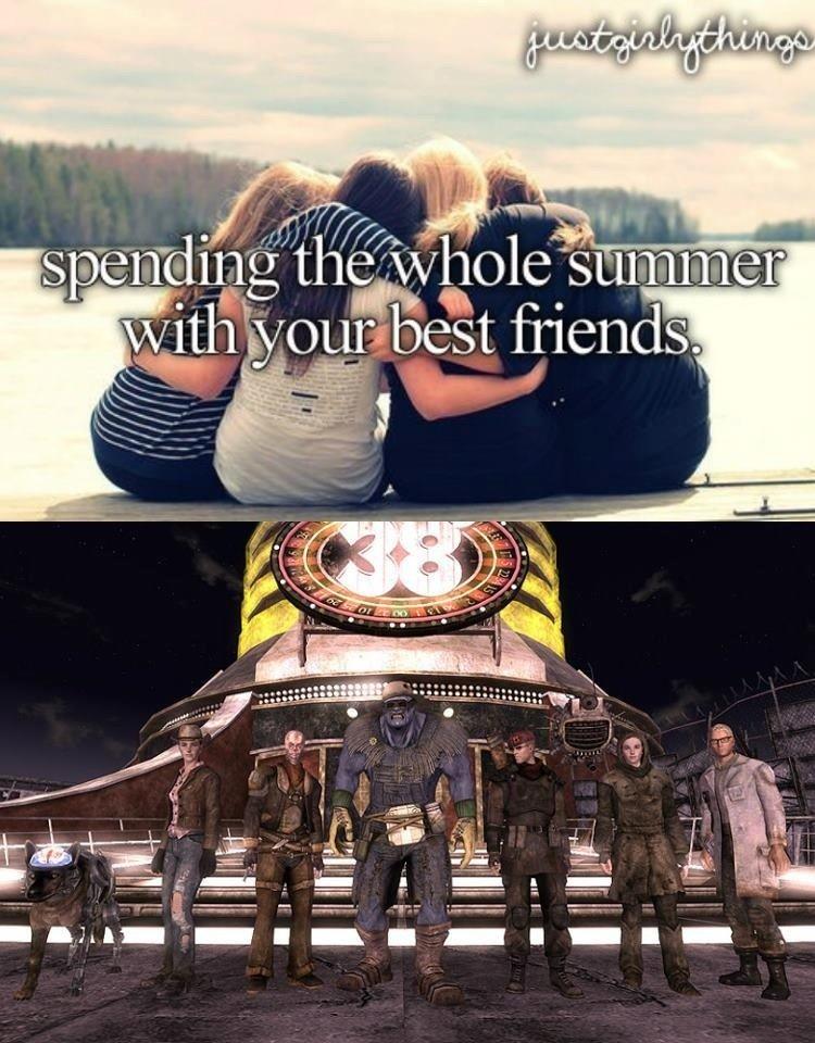 "Summer. . qualls . est friend?;! tare""'. I want new best friends"