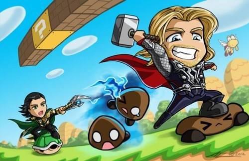 Super Asgard Bros. .. Loki's FW Super Asgard Bros Loki's FW