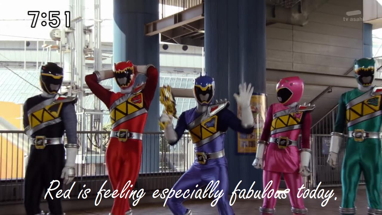 Super Sentai? Super Fab!. .. What series is this? Zyuuden Sentai Kyoryuger super Fabulous