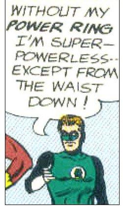 Super Powerless except. . Super Powerless except