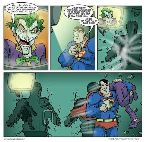 superman in arkham asylum 2?. superman!!!.. No it's pepperoni! fap fap fap fap fap Superman