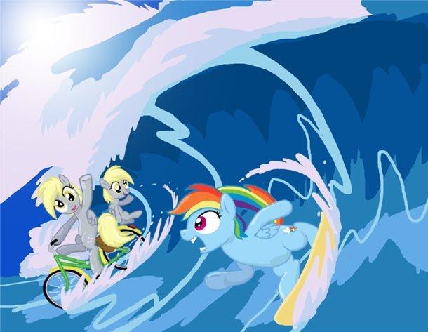Surfs up.. floop. Surfs up floop