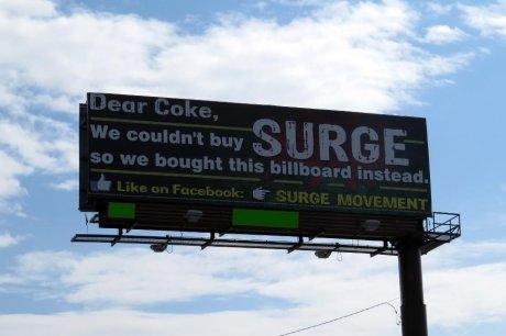 Surge Soda. www.facebook.com/SURGE.Soda. Surge Soda www facebook com/SURGE