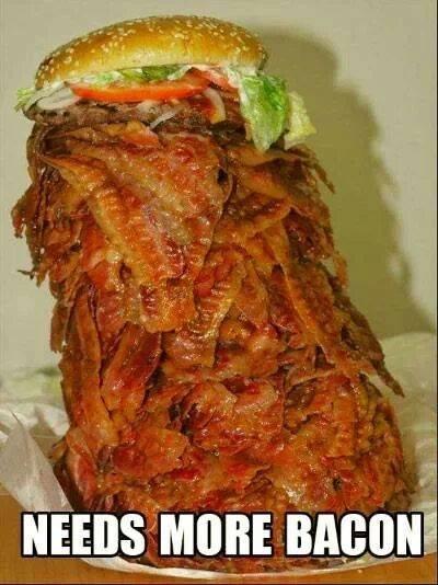 sweet jesus. .. Who put salad on your bacon? sweet jesus Who put salad on your bacon?