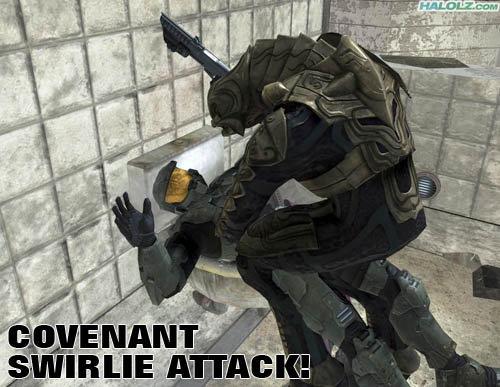 swirly attack/rape. ...O.o.. Looks more like a rape to me... Halo master cheif buttsecks yoker
