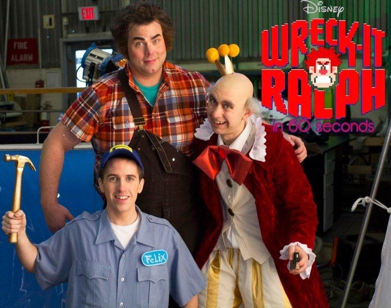 W-I R. Wreck-it Ralph short soon on Youyube - Megasteakman Channel. W-I R Wreck-it Ralph short soon on Youyube - Megasteakman Channel