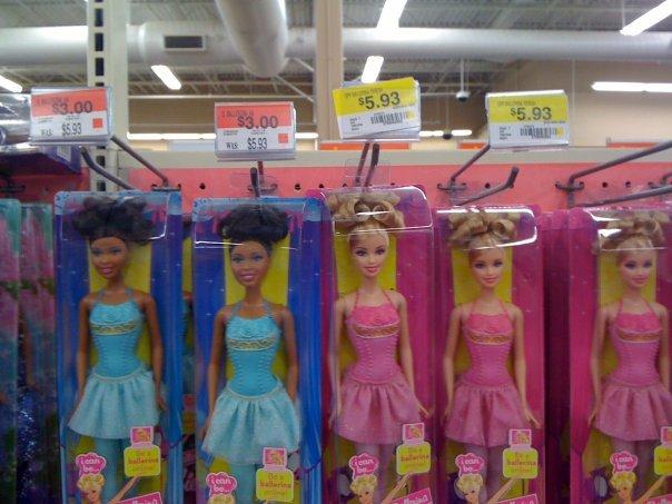 Wal-Mart Fail. I love my Wal-Mart!.. the black doll comes with aids,2 kids,and a welfare check Walmart Fail Rac