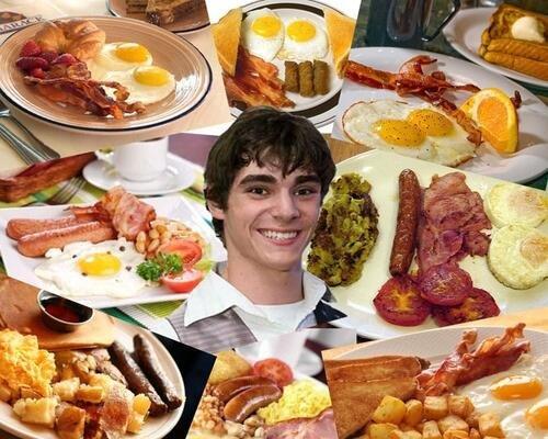 Walter Junior's favorite thing. . breaking bad breakfast cooking