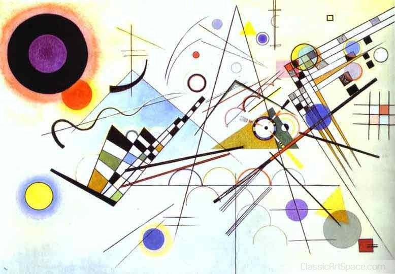 Wassily Kandinsky's Famous Painting. Composition VIII. 1923, Wassily Kandinsky .. this art? Wassily Kandinsky's Famous Painting Composition VIII 1923 Kandinsky this art?