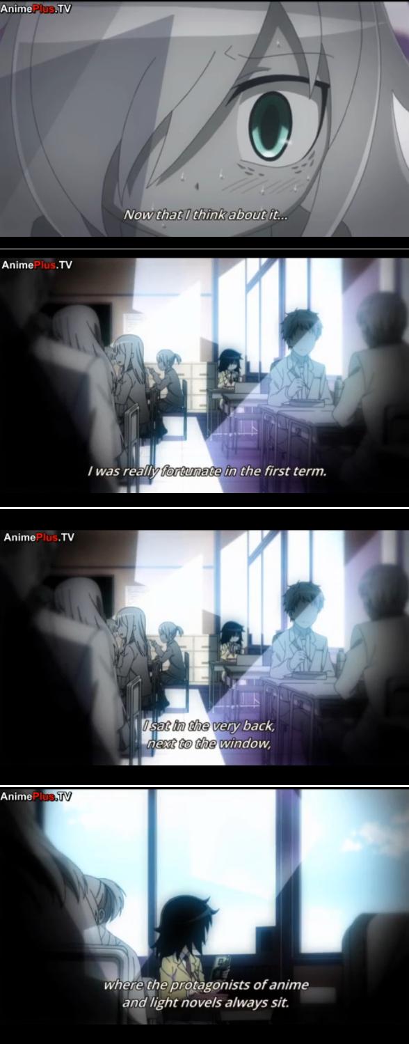 Watamote ep 10. google 'anime window seat' and see for yourself. Nov) that f think nitnit rt. -- Tht I HHS tvi/ la'' to m tho first tcom. Anima the prt) , of ra Watamote