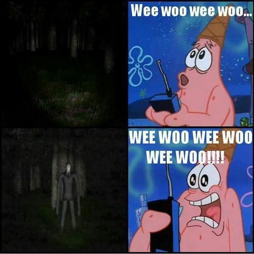 WEE WOO WEE WOO. SPONGE BOB, I SEE HIM!.. good old spongebob... +1 for you wheelchairs