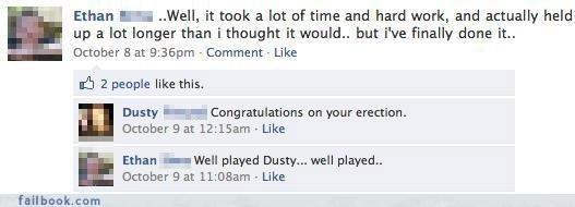 Well Played Dusty. Well Played Dusty. Well Played Dust