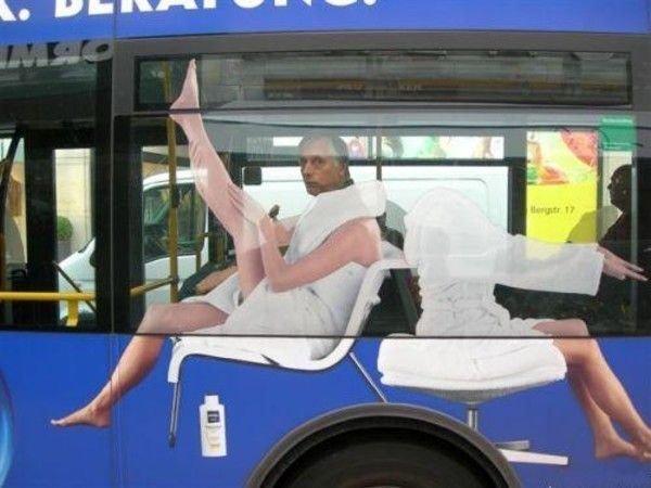 What're U Lookin At?. .. BAHAHAHAHA!!!! poor guy -_- XD Bus passenger
