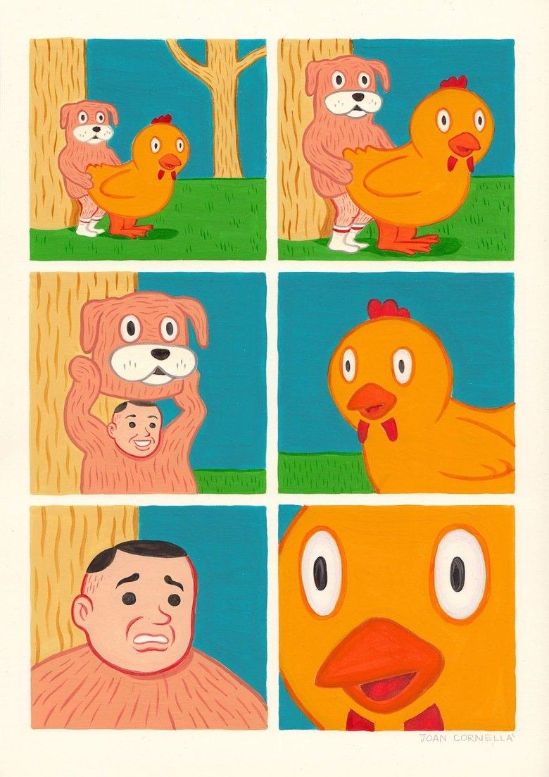 Whatthefuckasaurus. .. duck's expression quas wex exort
