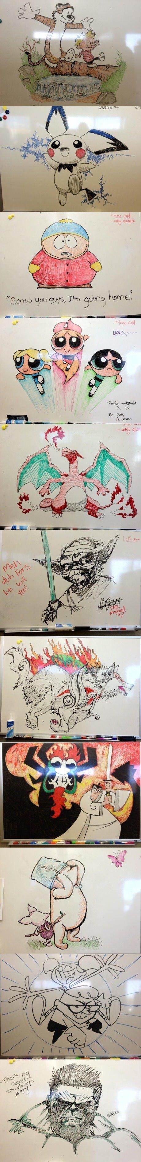 Whiteboard Drawings. . Whiteboard Drawings