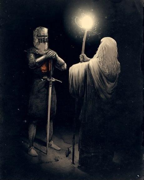 Who shall pass?. . Who shall pass?