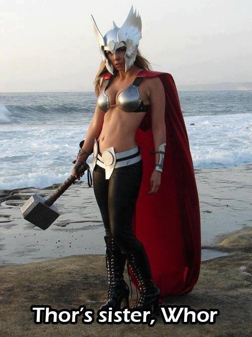 whor. . Thor' s sister, IX/ hor. RWJ whor Thor' s sister IX/ hor RWJ