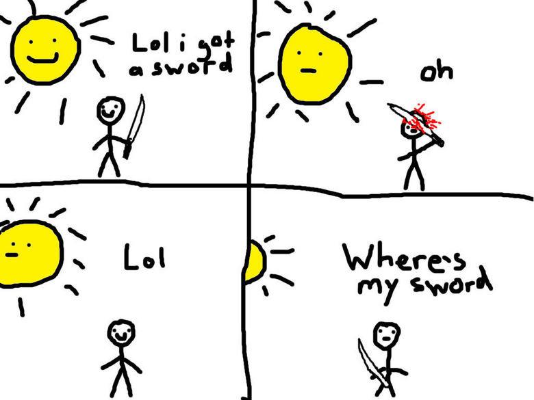 Why I shouldn't draw comics. ..... lolwut Why I shouldn't draw comics lolwut