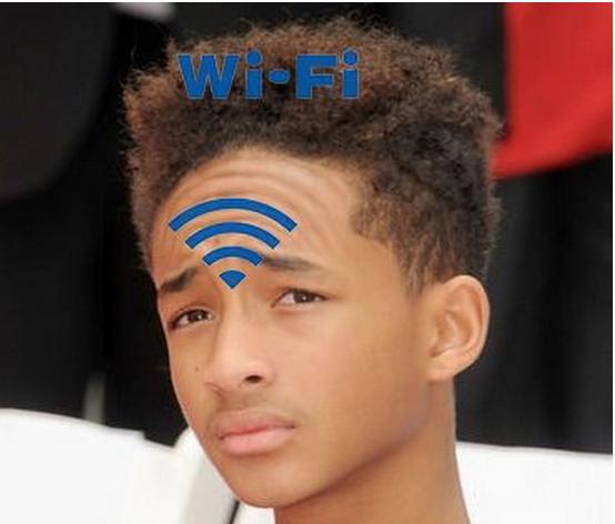 "Wi-Fi. Up to 2,4 Gb/s.. ""A sir, my Wifi is broken, it keeps saying nonsensical quotes that don't make no sense."" Wi-Fi Up to 2 4 Gb/s ""A sir my Wifi is broken it keeps saying nonsensical quotes that don't make no sense """