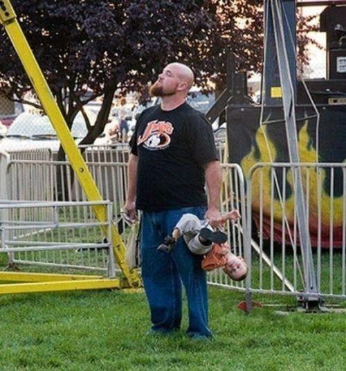 World's Best Dad. The world's best dad takes his kid to the fair.. lucky kid World's Best Dad The world's best dad takes his kid to the fair lucky