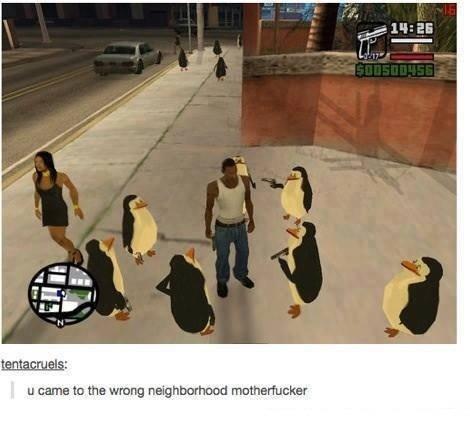 Wrong neighborhood. . Wrong neighborhood