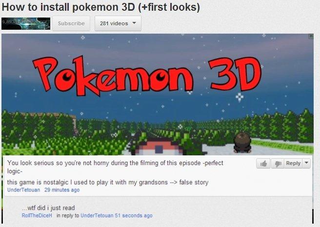 wtf youtube. no. Pokemon