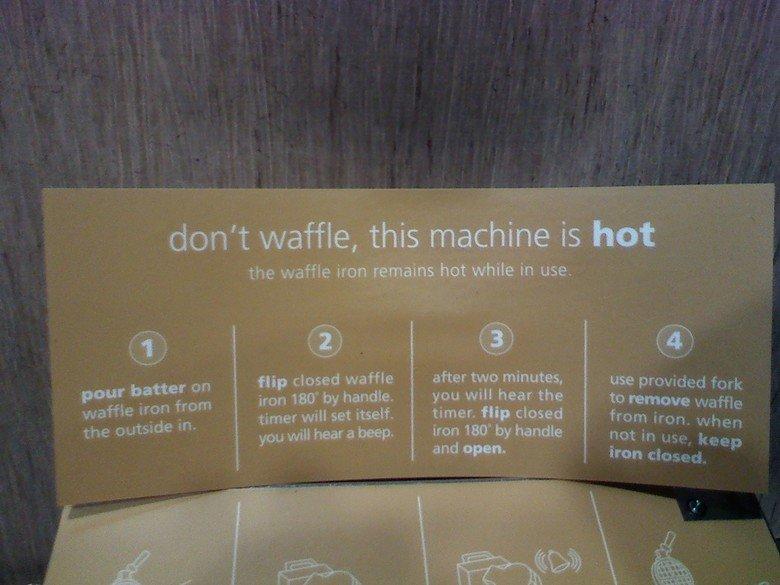 wut. Dont waffle, dont ever waffle.. can i pancake? >.> wut Dont waffle dont ever can i pancake? >