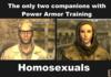 Power Armor Training