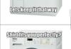 Washing machine logic..