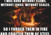 Forging a beast