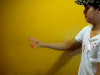 Ball magic trick explained.. .