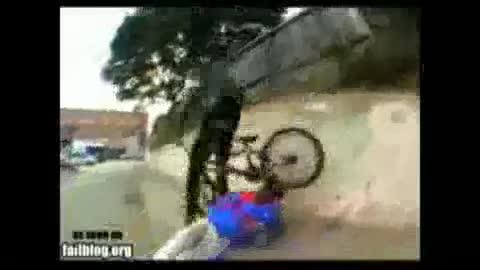 BMX Headshot. ow ow ow ow GOD DAMMIT!!.