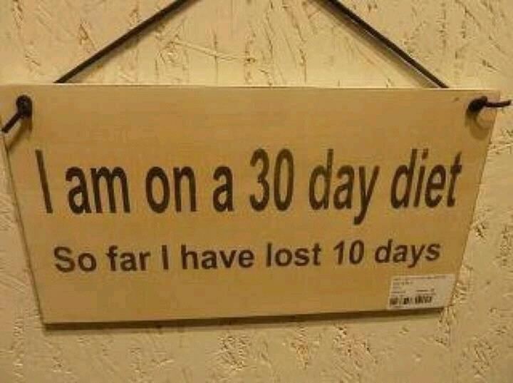 30 days diet......... . diet days