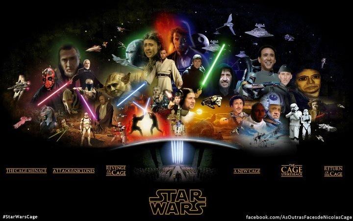 Cage Wars. . star wars nick c