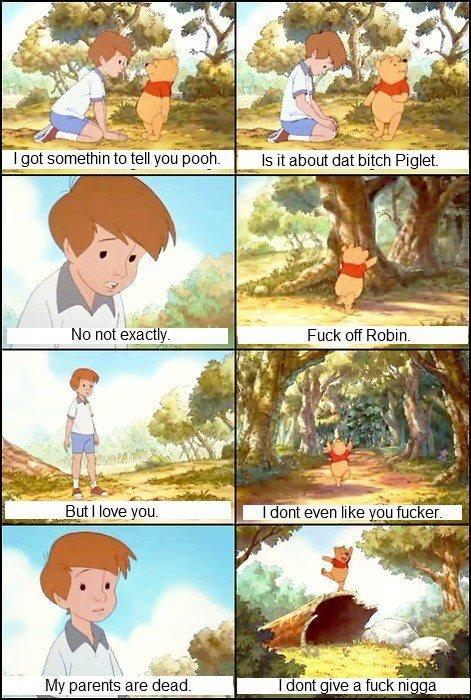 Can't Have A D And M With Pooh. . I tif. Can't Have A D And M With Pooh I tif
