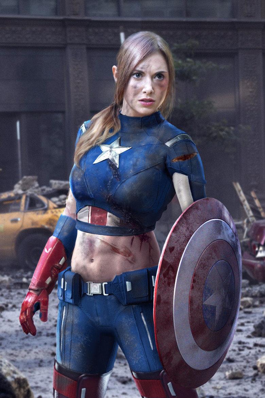 Captain America rule 63. . RUle 63 Captain America