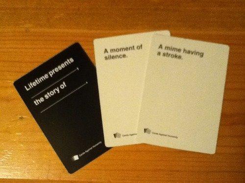 cards against humanity. . cards against humanity