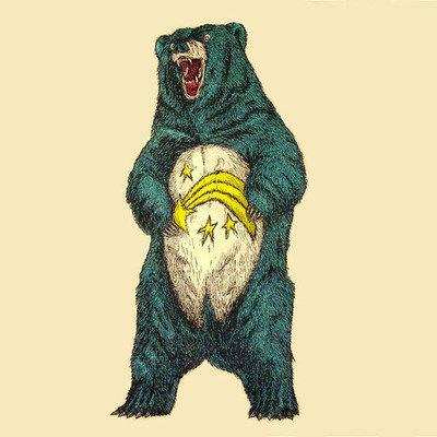 Care ing bear. .. I'd cuddle it. Care ing bear I'd cuddle it