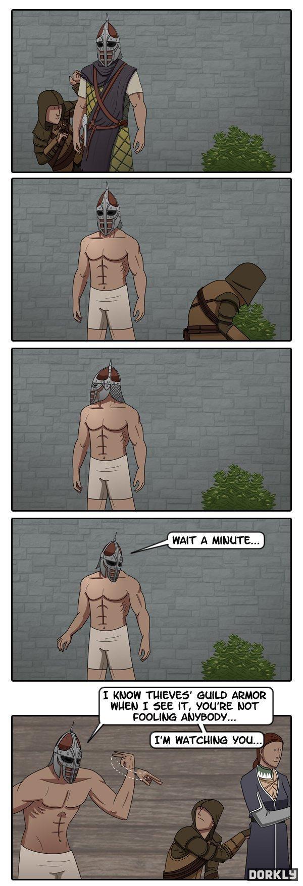 Catching a skyrim thief. . rti'. MFW I've never played Skyrim Catching a skyrim thief rti' MFW I've never played Skyrim