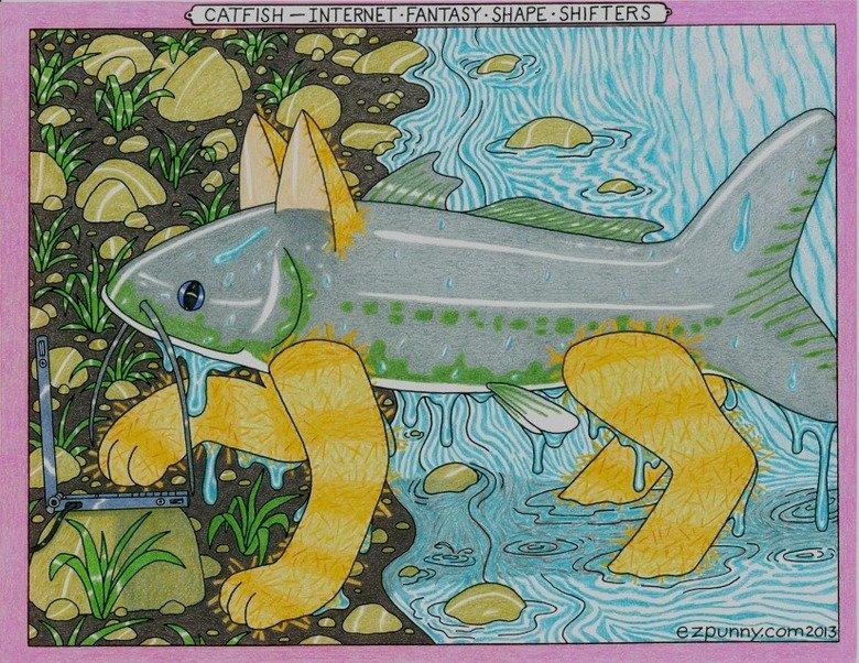 Catfish. Catfish de cyber.. swan cyber catfish