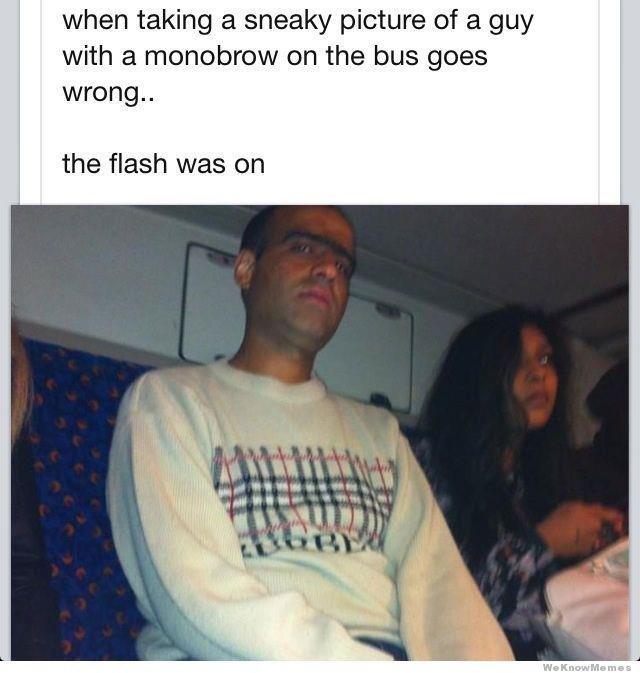 Caught With Flash. Haha. Caught With Flash Haha