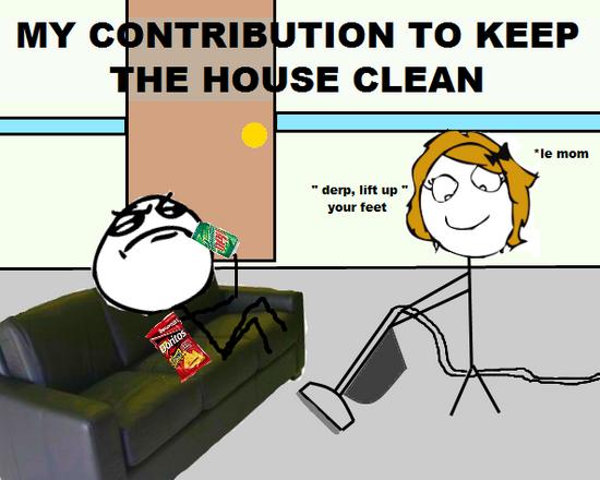 Cause im a nice guy. . MY C F TION TO KEEP HE MO SE CLEAN Cause im a nice guy MY C F TION TO KEEP HE MO SE CLEAN