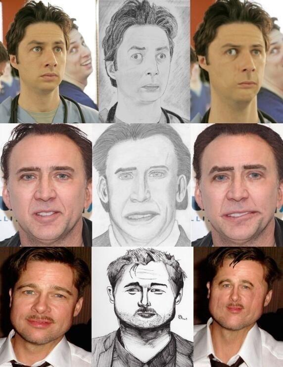 Celebrities and fan art look alike. .. My favorite. Celebrities and fan art look alike My favorite