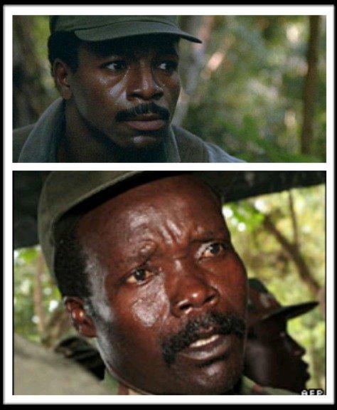 Celebrity Look-A-Like?. .. Is that SGT Johnson?! Kony
