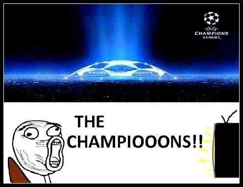 Champions League. .. Ta na na na na na naaaaaaaaa! Sponsored by Heiniken and Sony PS3. Champions League Ta na naaaaaaaaa! Sponsored by Heiniken and Sony PS3